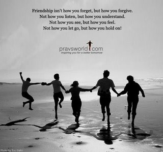 Mampukah anda membayangkan Persahabatan tanpa Cinta?Persahabatan dan